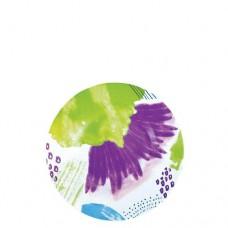 Тарелка Цветовой всплеск